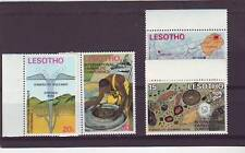 a121 - LESOTHO - SG246-249 MNH 1973 INTERNATIONAL KIMBERLITE CONFERENCE