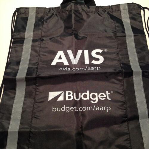 Nouveau avis budget AARP Cinch Sac Sac Sac à dos avec cordon de serrage en nylon noir