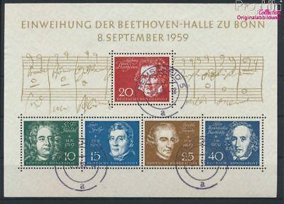 Stamps Reliable Fr Allemagne Bloc 2 Oblitéré 1959 Beethov 9223587 2019 New Fashion Style Online