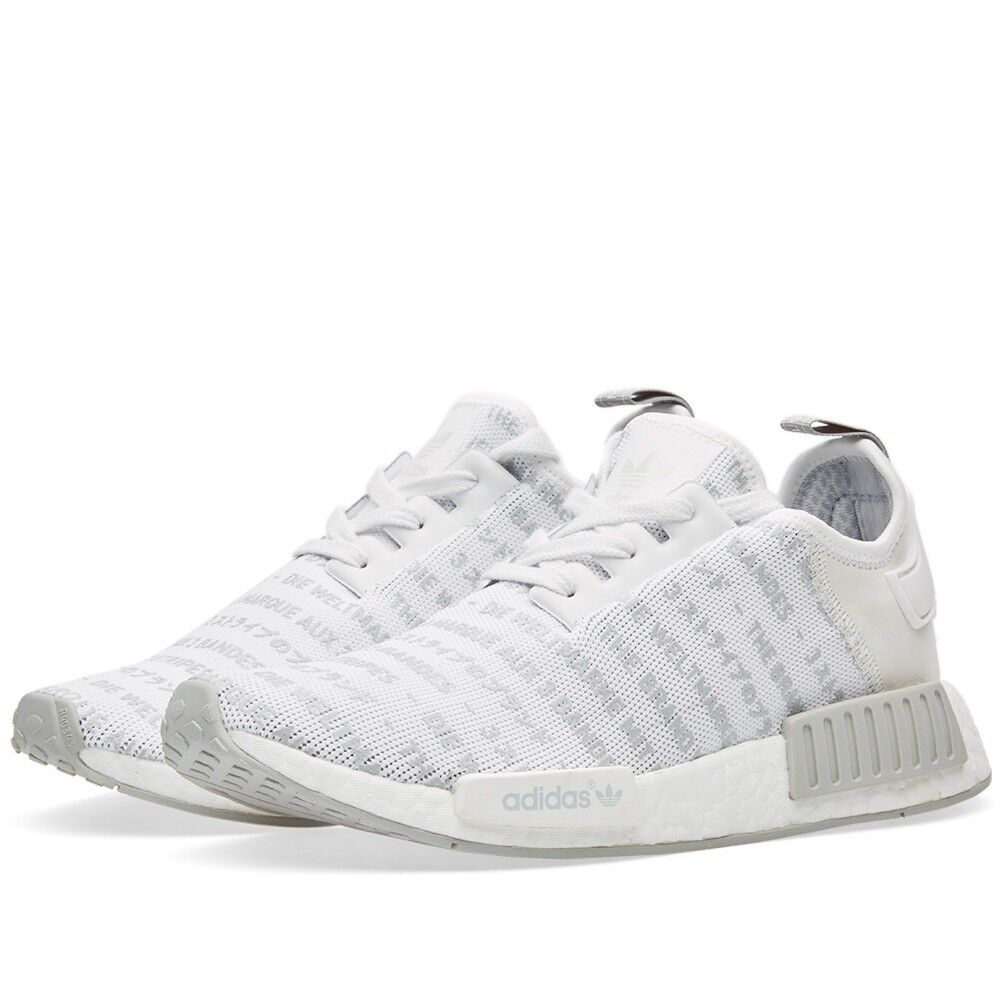 Adidas NMD R1 S76518 White Men Size US 4.5 Rare NEW 100% Authentic
