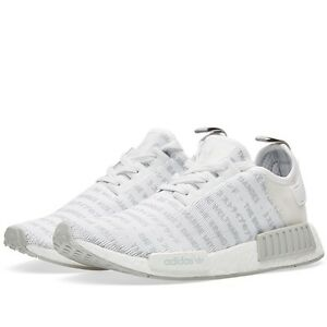 d3ec6c850ee Details about Adidas NMD R1 S76518 White Men Size US 4.5 Rare NEW 100%  Authentic