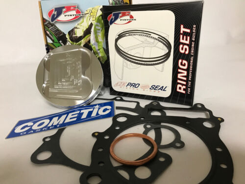 Bombardier DS650 DS 650 100mm Stock Bore 11.5:1 JE Piston Cometic Gasket Kit