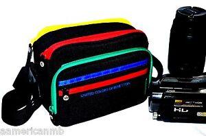 Video Camera Shoulder Bag Case Padded Sony Handycam Camcorder Canon Nikon UCB