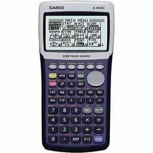 Casio-fx-9860G-Graphing-Calculator