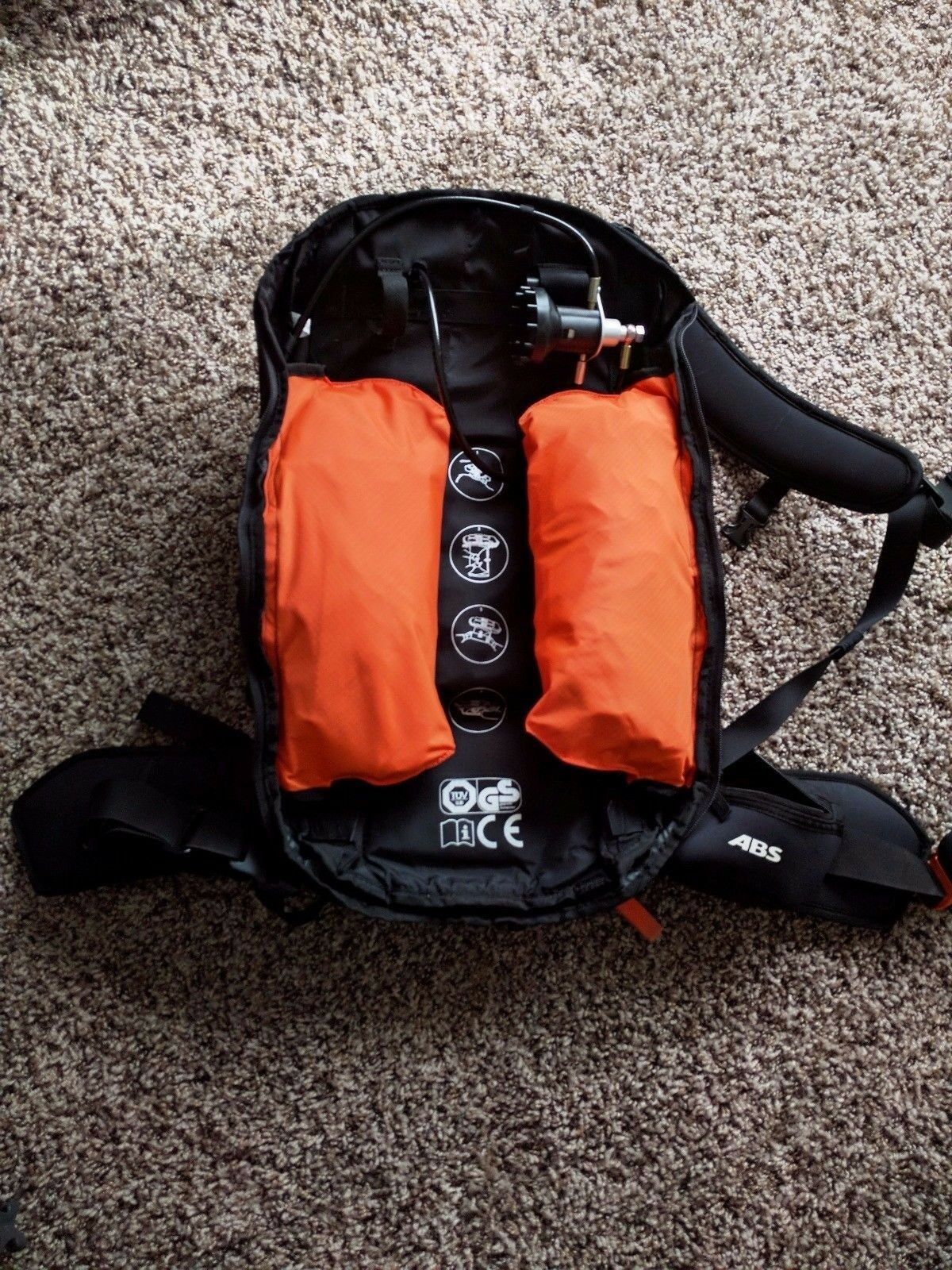 8L ABS Vario Airbag with Dakine Pack 40L