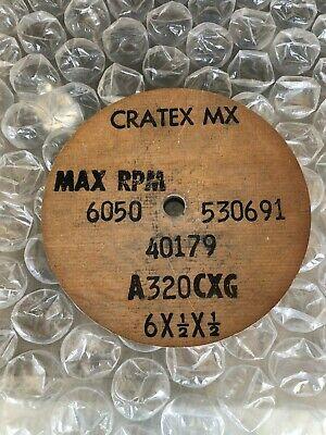 "Item No Cratex Round Stick Coarse Grit 10.828 6/"" x 1//2/"""