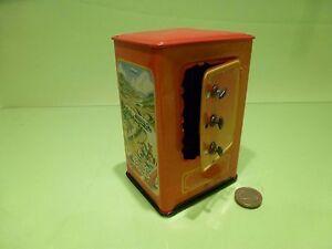 Details about TIN PLATE TOY BLECH KRZ GERMANY d p  angem - SAFE MONEY BOX  SPAR DOSE -VINTAGE