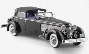 1-43-ESVAL-MODELS-EMU-43004b-1937-DUESENBERG-SJ-Town-Car-Chassis-2405-Neuf-dans-sa-boite