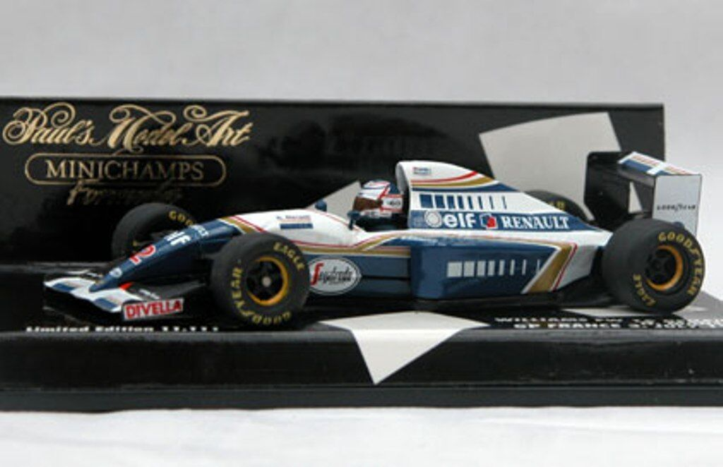 MINICHAMPS MINICHAMPS 400 860005 430 940102 WILLIAMS F1 car Nigel Mansell 1986 & 1994 1 43