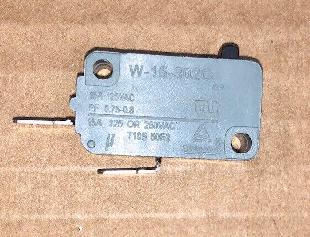 INTERRUPTOR MICROONDAS. W-15-302C MICROWAVE MICROSWITCH