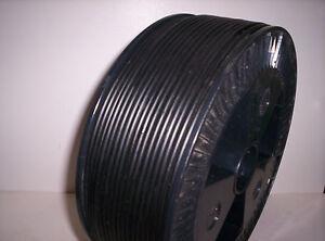 6816 Polyethylene Pe Black Welding Wire Plastic Welding Rod Ø 0 1//8in