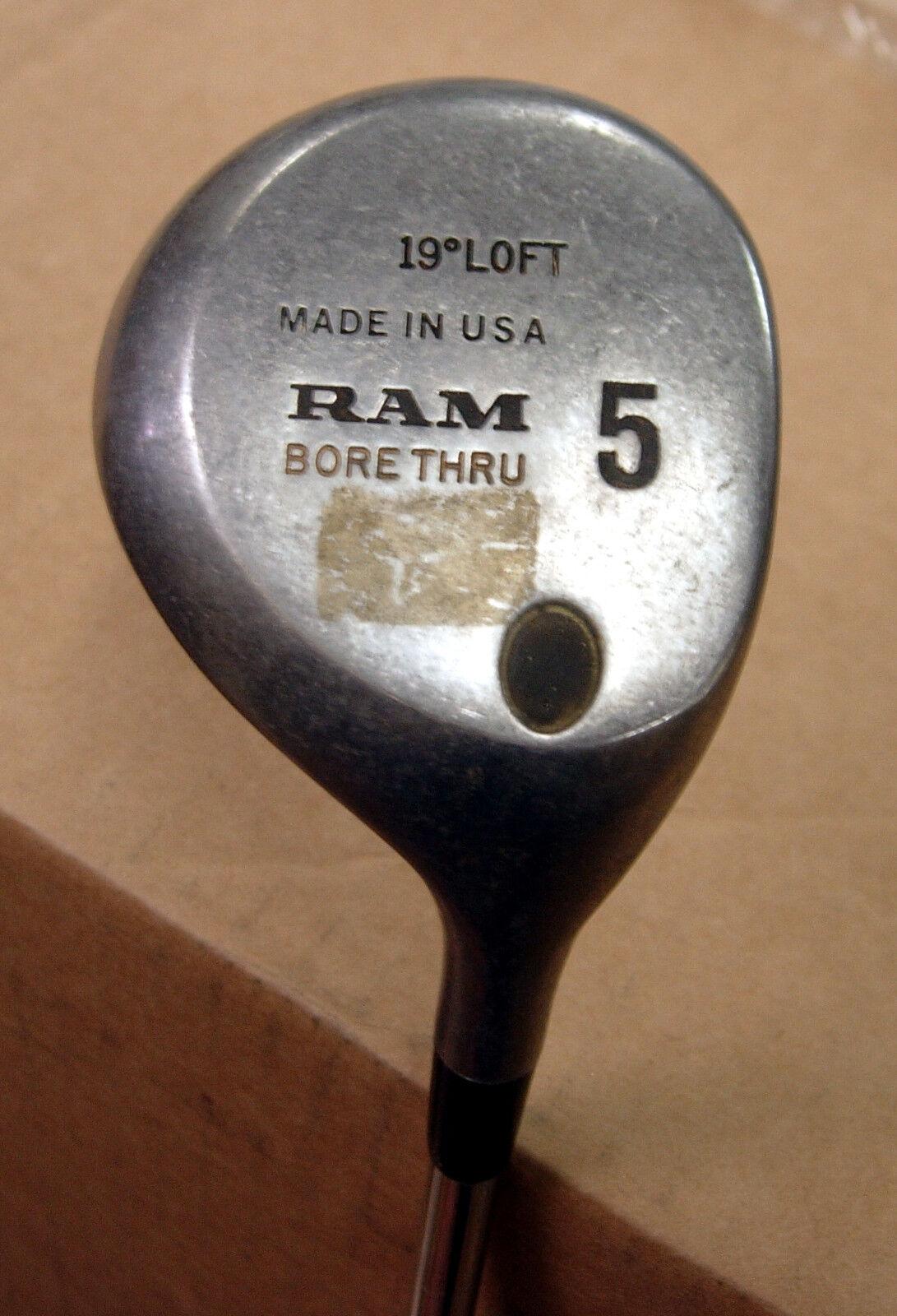 =  Ram década de 1990 Bore-Thru sin usar 5W -19  Acero Fm 6.5 RH  venta al por mayor barato