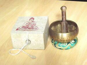 7-OFF-Tibetan-Singing-Bowl-Buddhism-Chakra-Boxed-Gift-Set-Folding-Stick-Nepal
