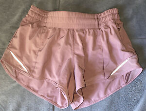 Lululemon Hotty Hot Shorts 4 Blush