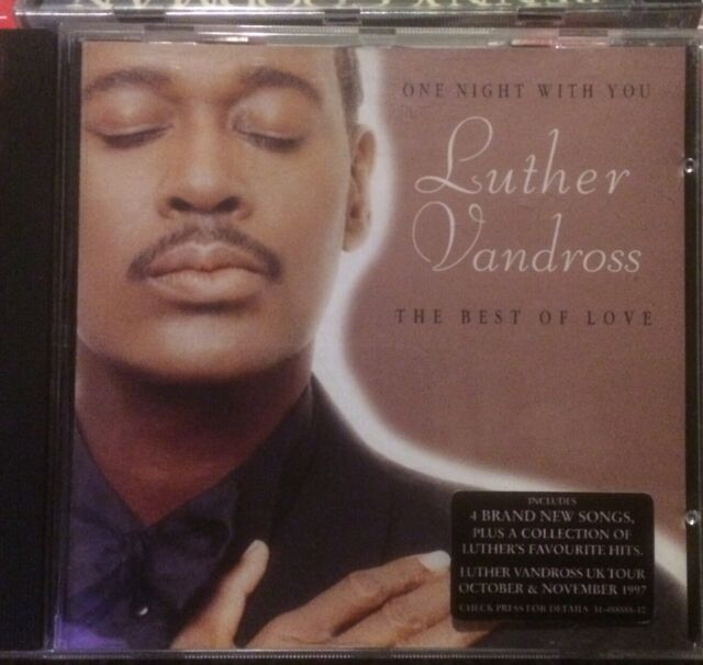Luther Vandross - One Night with You (The Best of Love, 1997)