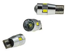 2x 4 SMD 5630 + 3 WATT CREE Chip LED XENON weiß w5w T10 Can-Bus Kein Standlicht