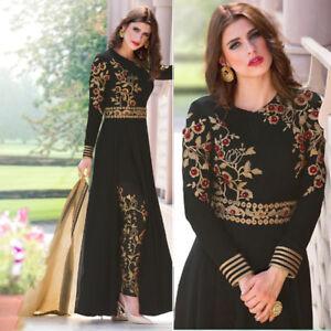 abf6289ad9 Image is loading Bollywood-ethnic-party-wear-salwar-kameez-indian-designer-