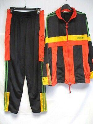 Survêtement ADIDAS Trefoil vintage années 80 90 tracksuit oldschool sweatsuit L | eBay