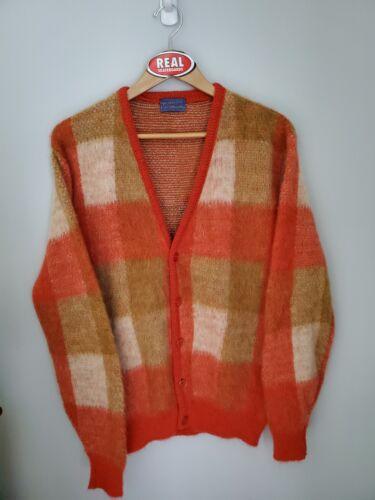Vintage Pendleton Mohair Cardigan Cobain Sweater G