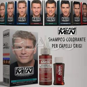 JUST-FOR-MEN-COLORAZIONE-MASCHILE-SHAMPOO-COLORANTE-PER-CAPELLI-GRIGI