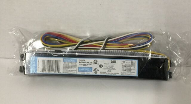 3 or 4 Lamps Electronic Ballast PHILIPS ADVANCE IOPA-4P32-N 109 to 106 Watts