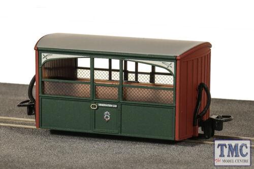 Zoo Car Early Press Liv GR-561 Peco 009 Narrow Gauge FR 4wh Bug Box Coach