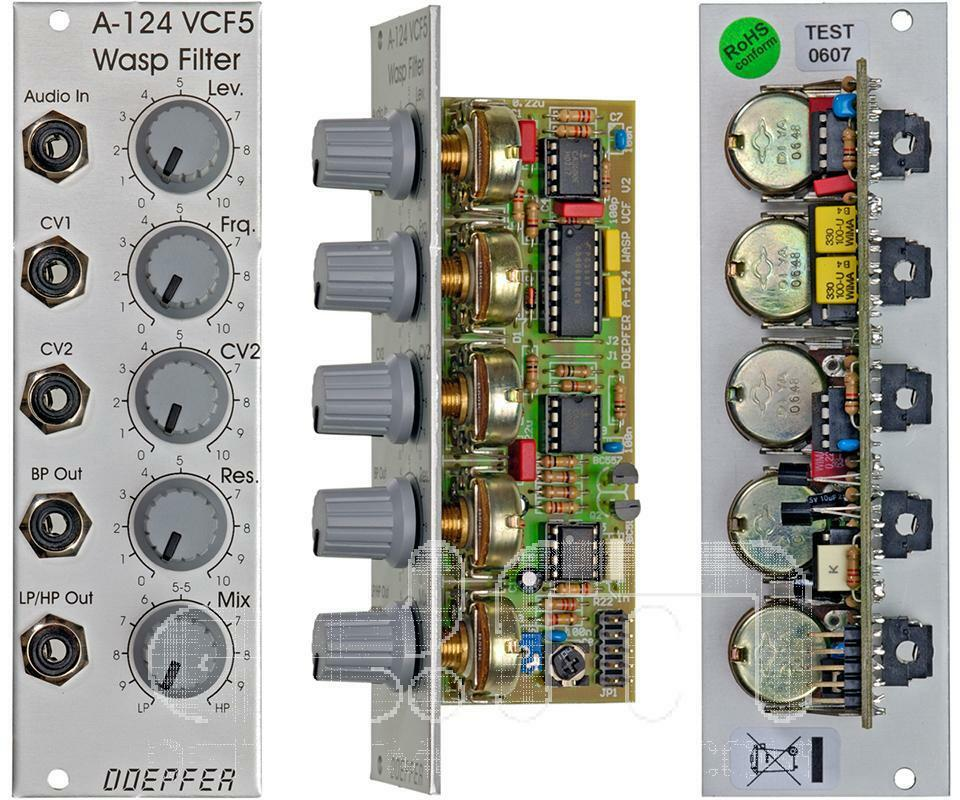 Doepfer A-124 Wasp Filter   Eurorack Module   NEW