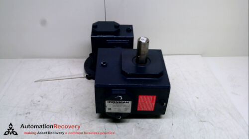 TORQUE: 1421 LBS #237302 GROVE GEAR GRG-DMQ-821-1500-L6-56 WORM REDUCER