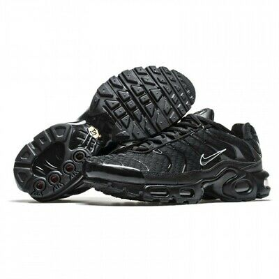 Nike Air Max nerometallico Plus 852630 015 Argento Misura 7 Regno Unito, 40 EUR | eBay