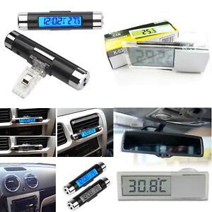 Digital-LED-Auto-Car-Clock-In-Outdoor-Thermometer-Sensor-Temperature-LCD-B2AD