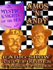 AMOS AND ANDY RADIO SHOW MP3 333 + BONUS FACTORY SEALED SUPER FAST FREE SHIP N