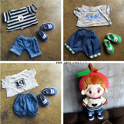 Kpop EXO XOXO Planet#2 Park Chan Yeol Doll Clothes Coat Pants Accessory