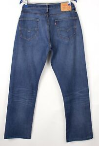 Levi's Strauss & Co Hommes 504 Jeans Jambe Droite Taille W36 L34 BCZ986