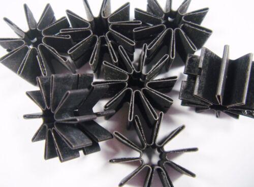 Disipador refrigeración estrellas to18 RTHK 60 K//W resorte chapa 16x4x9,5mm #21 K 30/%