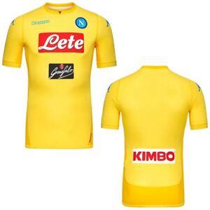 Kappa T-shirt sportiva KOMBAT GARA 2018 NAPOLI Uomo Calcio sport CNA Camicia
