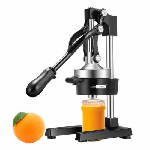 VIVOHOME Home Hand Press Manual Fruit Juicer Juice Squeezer Citrus Orange