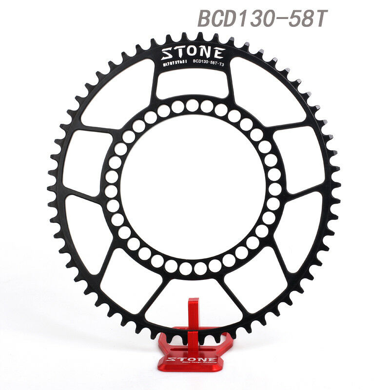 Stone Road Bike Oval Chainring BCD 130mm Folding Bike Chain Ring Shimano 6700