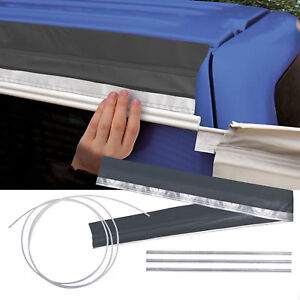 Magnetband-Keder-Leiste-280-cm-grau-3-8-kg-Ideal-fuer-Minicamper-amp-Transporter
