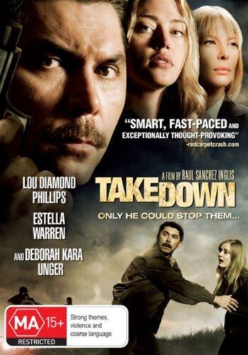 1 of 1 - TAKE DOWN (Lou DIAMOND PHILLIPS Estella WARREN) ACTION DVD Transparency Takedown
