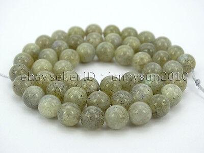 Natural Labradorite Gemstone Round Beads 15.5'' 2mm 3mm 4mm 6mm 8mm 10mm 12mm