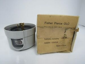 Fisher pierce 04 photoelectric outdoor lighting control ebay image is loading fisher pierce 04 photoelectric outdoor lighting control mozeypictures Image collections