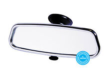 Chrome rear view mirror for classic vintage car dipping function chrome mirror