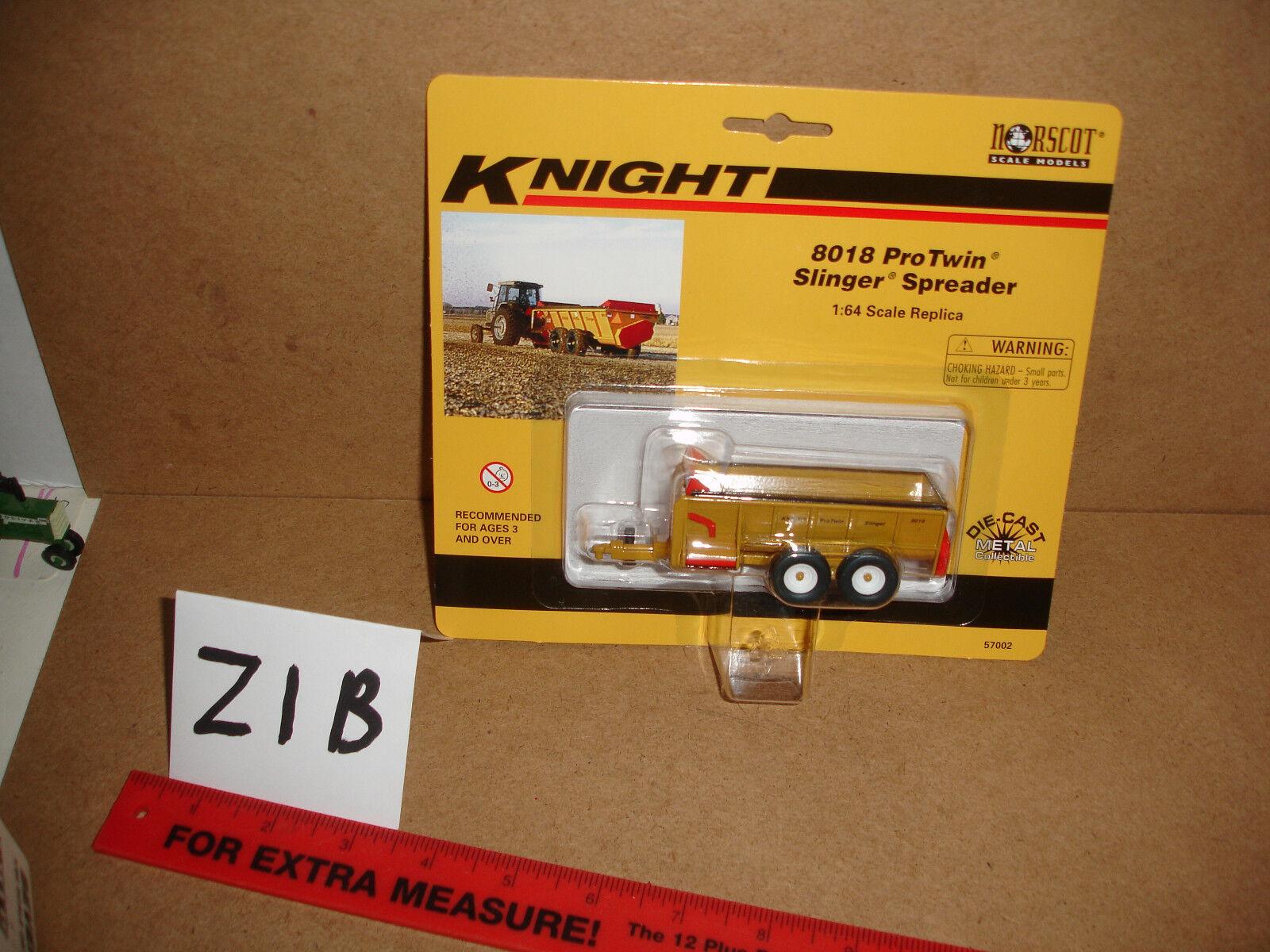 1 64 64 64 Norscot Knight 8018 ProTwin Slinger Spreader 53899b