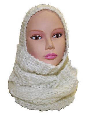 Onesto Echarpe Capuche Bonnet Femme Grosse Maille Mode Fashion Sexy Pierre-cedric !