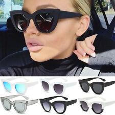 2018 Women Ladies Cat Eye Retro Vintage Style Rockabilly Sunglasses Eye Glasses
