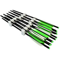 Crossbow Bolts Archery Aluminum Arrows Targets Hunting Shooting Screw Points