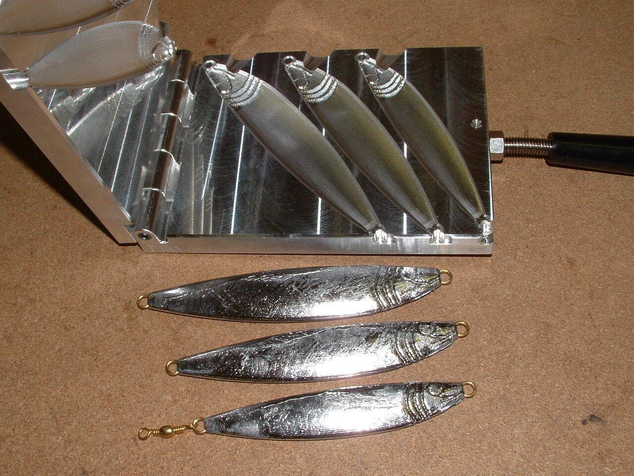 Saltwater Fish Jig -2 mold 5,7,9oz CNC Aluminum