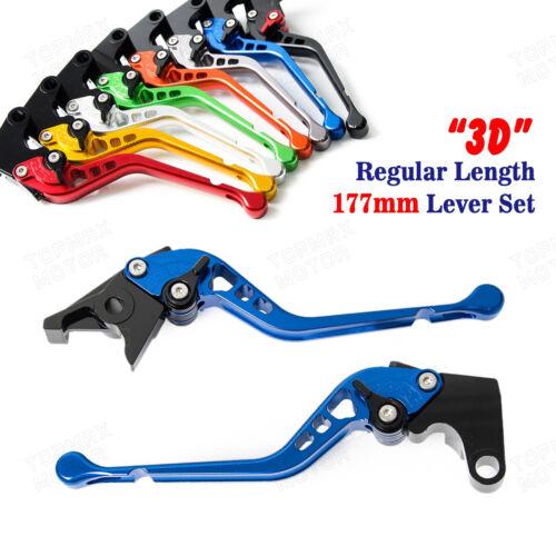 CNC 3D Long Brake Clutch levers for Yamaha SR500 78-91 XTZ660 Tenere 92-98 XJ550