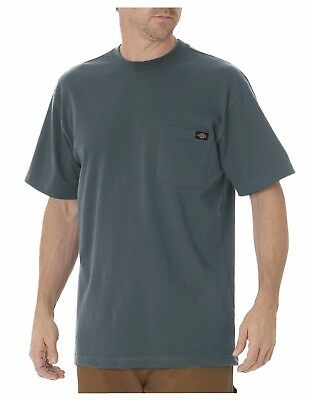 M-5XL Dickies WS450 Short Sleeve Heavyweight T-Shirt W//Pocket Various Colors