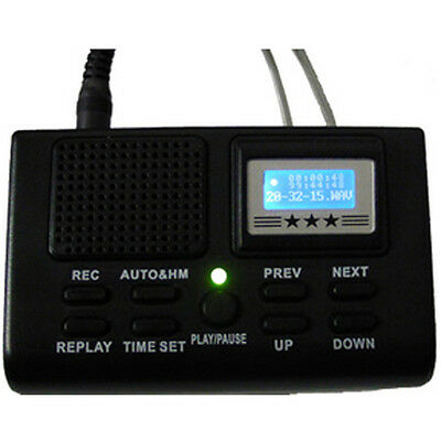 Digital Telephone Call Recording LCD Display SD Card Phone Voice Recorder